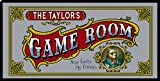 THOUSAND OAKS BARREL Personalized 'Game Room' Bar Mirror