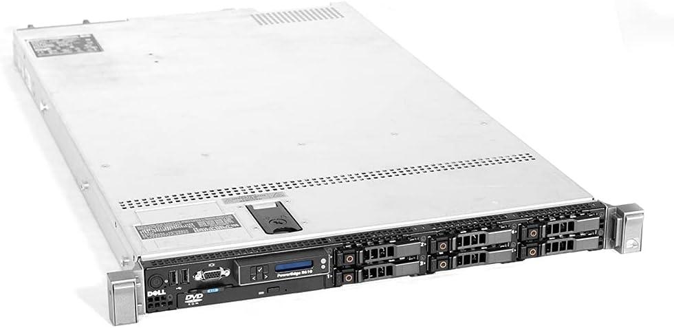 Dell Jacksonville San Antonio Mall Mall PowerEdge R610 Server 2X E5645 = Cores 12 32GB 6X RAM