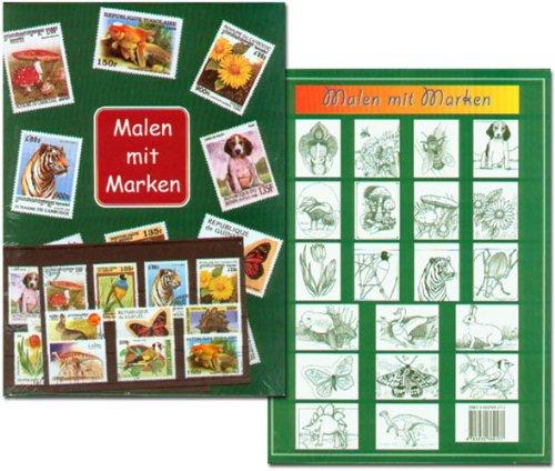 Prophila Collection Malen mit Marken - Aus- / Malbuch für Kinder