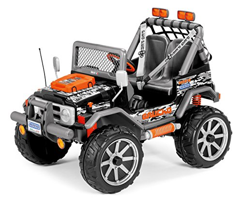 Peg Perego Gaucho Rock'in Ride-On, Black