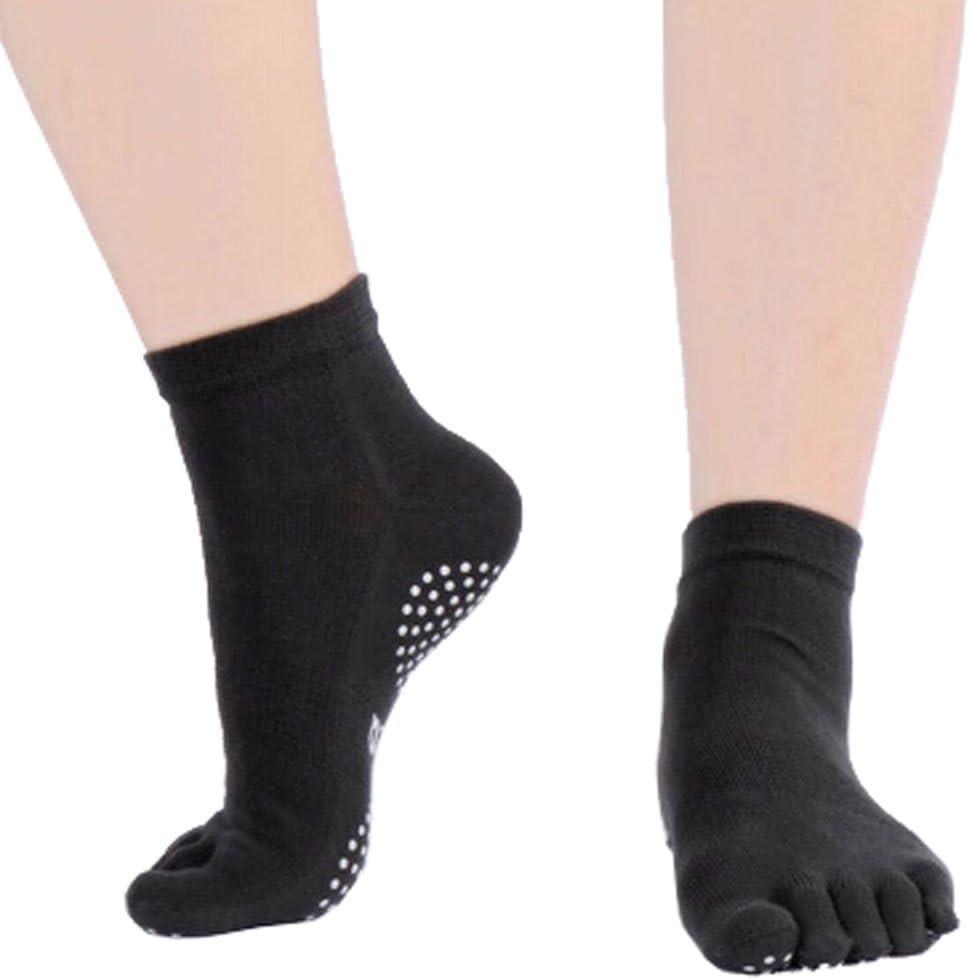 Phoenix Wonder Women's Manufacturer OFFicial shop Non Slip Pure Full Yoga Socks Regular store Toe Cotton