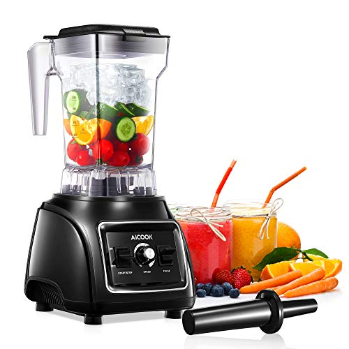 Professional Countertop Blender Smoothie Maker for Kitchen High Speed Ice...