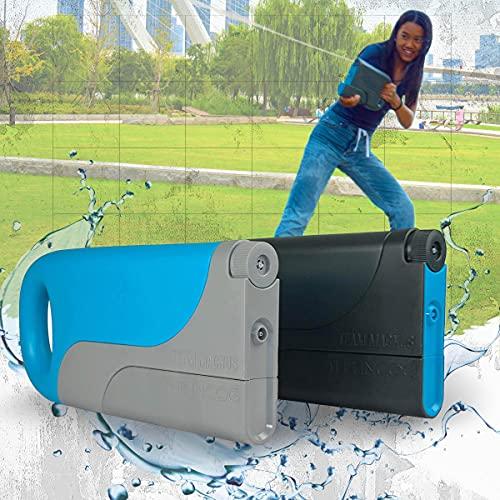 TEAM MAGNUS Incog - Pistola de Agua (Set 1 Pistola - Azul)