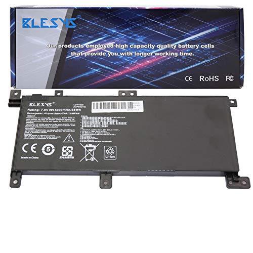 BLESYS C21N1509 Compatible con computadora portátil Batería para ASUS VivoBook X556 X556UA X556UB X556UB-3F X556UB-3G X556UF X556UJ X556UJ-XO015T X556UQ X556UQ-XO076T X556UR X556UV batería (7.6V/38W)