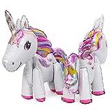 whatUneed 2PCS Unicorn Balloons, Party Foil Balloon, Juguetes para Boda, Fiesta de cumpleaños Decoración para niños Regalo para niños