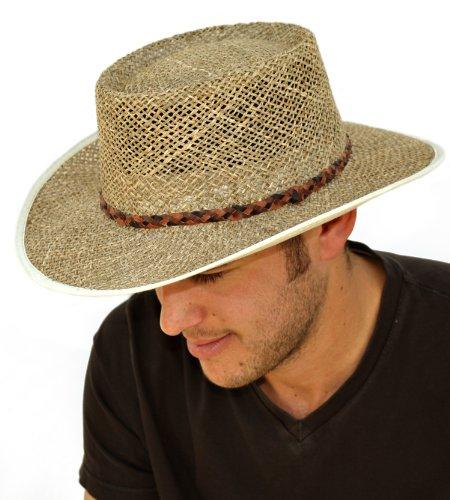 con bolsillo con cremallera Sombrero para hombre 100/% algod/ón The Hat Company A185