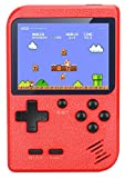 VanBasic Handheld Game Console, TV Video Game Retro Mini Game Player Travel Game 520 Classical FC Games 3.0 Inch Color Screen Boy Games Xmas Gift for Kids Red