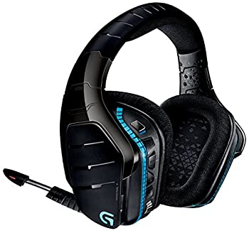 Logitech G933 Artemis Spectrum - Wireless RGB 7.1 Dolby and DTS X HeadphoneX Surround Sound Gaming Headset - PC PS4 Xbox One Switch and Mobile Compatible - Advanced Audio  Renewed