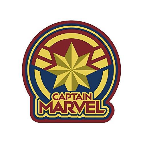 Marvel 69064 - Imán para Nevera con Logo de Capitán, PVC, Multicolor
