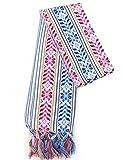 XL 9 ft Long Doula Mexican Rebozo Shawl...