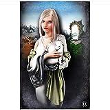 Swarouskll Die Dame mit einem Hermelin Poster und Drucke