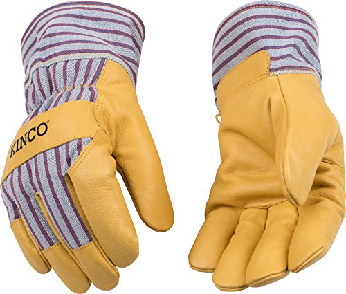 Kinco gefüttert Getreide Schweinsleder Handschuhe, L, 1