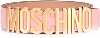 Luxury Fashion | Moschino Womens A800780010242 Pink Belt | Season Permanent