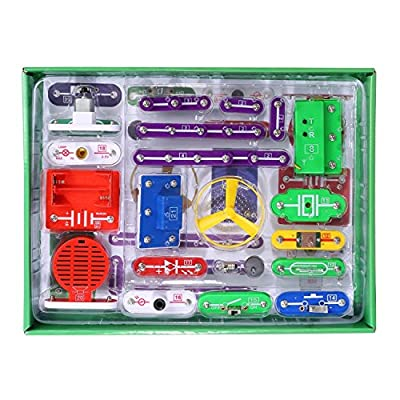 ELSKY Electronics Discovery Kit, Smart Electronics Block Kit,Educational Science Kit Toy,Great DIY Building Block for Chirldren