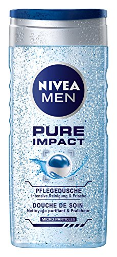 Nivea Men Pure Impact Pflegedusche, 4er Pack 4 x 250 ml