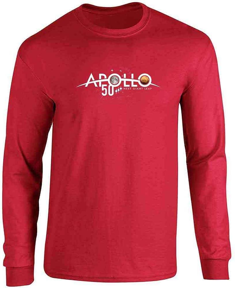 NASA Approved Apollo Next Giant Leap 50th Logo