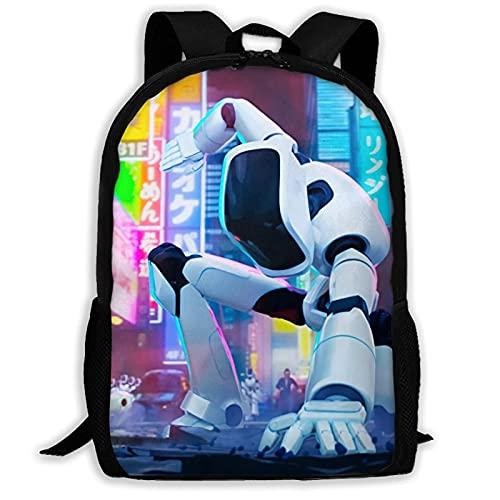 huatongxin Mitchells vs. The Machines, hermosa mochila para jóvenes, bandolera para viajar