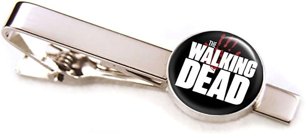 SharedImagination Don't Open Dead Inside Cufflinks, Walking Dead Tie Clip, Zombie Cuff Links, Z Nation Jewelry, Wedding Gifts, Groomsmen