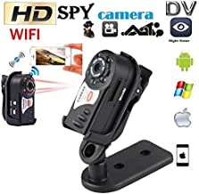 OUYAWEI Consumerelectronics for Wireless Q7 WiFi Camera P2P Mini DV Night Vision IR Video Recorder DVR