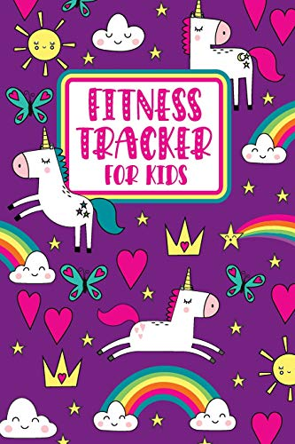 Fitness Tracker For Kids: Unicorn Food Journal And Activity Log For Developing Healthy Habits and Confidence At School, Summer Camp, Or Home