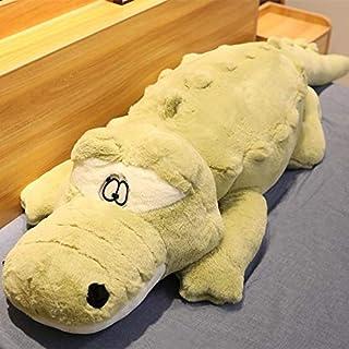 60-120 cm Creatieve leuke Krokodil Liggen Sectie Pluche Kussen Mat Pluche Krokodil Zachte Knuffel Speelgoed Cartoon Pluche...