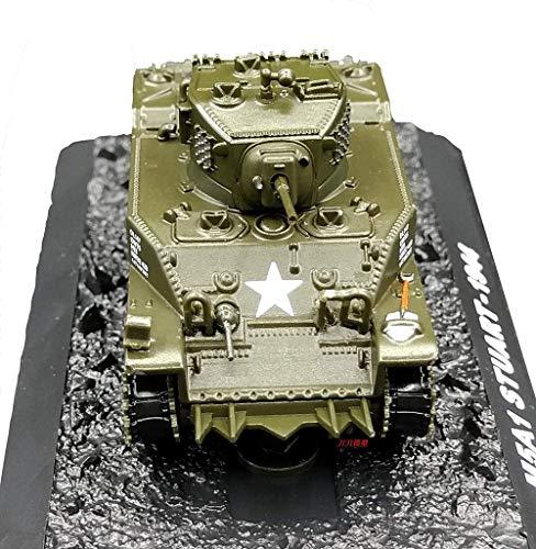 KAIGE Militares 1/72 plástica del Modelo del Tanque, la Segunda Guerra Mundial EE.UU. M5A1 Tanque Terminado Modelo, de colección y Regalo (4.6Inchtimes; 2Inchtimes; 1.6inch) WKY