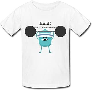 Kid's 2nd Sneak Peek Of Dumb Ways To Die Round Collar T Shirt