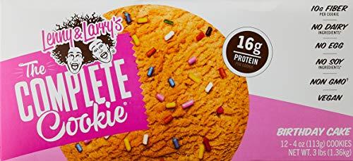 Lenny & Larry's Complete Cookie Proteinkeks Proteinriegel Eiweiß - Birthday Cake - Geburtstagskuchen 12x113 g