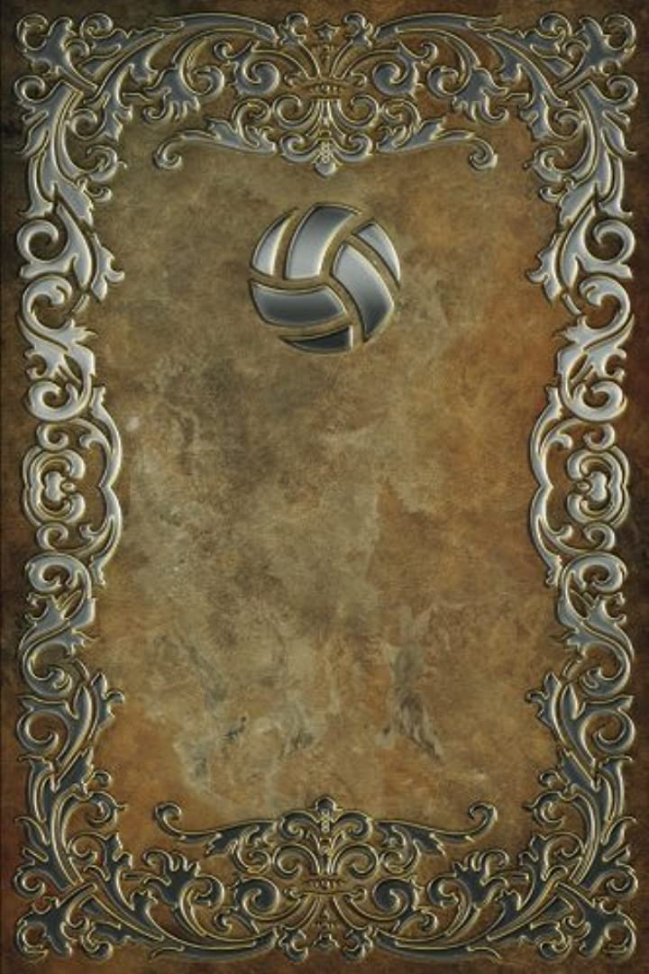 精査する箱ラビリンスMonogram Volleyball Notebook (Monogram Rustic 150 Lined)