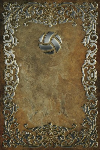 Download Monogram Volleyball Notebook: Volume 68 (Monogram Rustic 150 Lined) Idioma Inglés