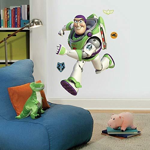 Sticker Géant Repositionnable Toy Story Buzz l'éclair