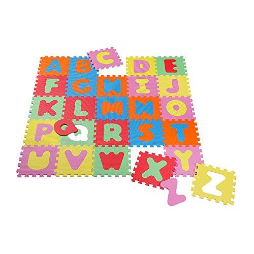 Knorrtoys 21003 - Puzzlematte 60-tlg. – Spielmatte Kinderspielteppich Spielteppich Schaumstoffmatte Matte bunt