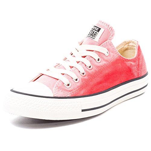 Converse Unisex – Erwachsene All Star Ox Sunset Wash Low-top, Daybreak Pink Brake Light, 41 EU