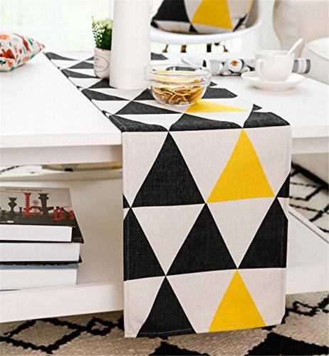 Sucastle® 32x230cm tissu Chemin de Table Cuisine Imperméable Décoration en Aspect naturel