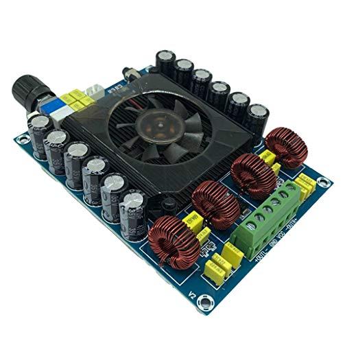 Yoging TDA7498E - Tarjeta de amplificador de potencia digital de alta potencia (160 Wx2, amplificador de potencia digital, subwoofer de doble canal)