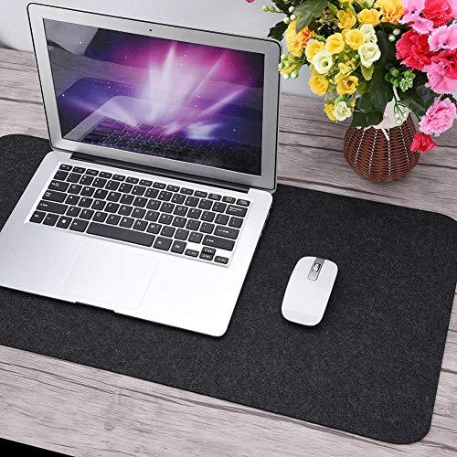 Cojín de mesa para el hogar, resistente a los arañazos y estático, cojín de escritorio de oficina para negocios de oficina(dark grey)