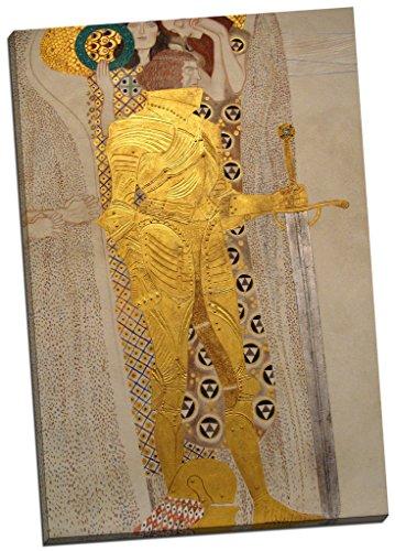 Gustav Klimt The Beethoven Freize Leinwanddruck Bild Wand Art Großer 76,2x 50,8cm