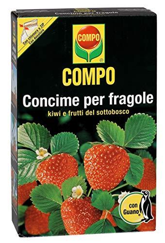 Fertilizante COMPO para fresas, kiwis y frutos de la maleza, con Guano, 1 kg