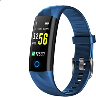 Fitness Tracker Smart Watch,IP68 Waterproof Activity Tracker Smart Watch with Heart Rate Blood Pressure Message Call Reminder Smartwatch for Women Men Kids,Bluetooth Touch Screen Sport Watch
