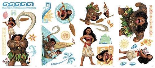 Stickers Repositionnables Disney Princesse Vaiana