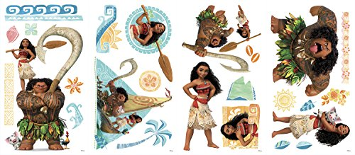 Stickers Repositionnables Disney Princesse Vaiana