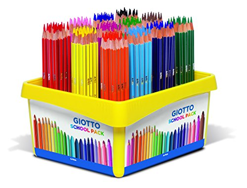 Giotto- Schoolpack 192 Pz Stilnovo-16 X 12, Colori Assortiti, 5234 00