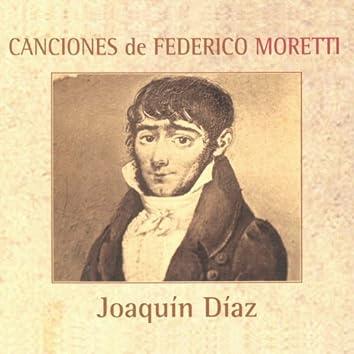 Canciones de Federico Moretti