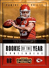 2017 Panini Contenders Rookie of the Year Contenders #3 Patrick Mahomes II RC