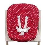 Blausberg Baby - Funda para stokke Newborn Set Juego Rojo Estrellas