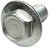 Aerzetix - 20 bulloni a testa esagonale, con flangia, 7 mm, M5 x 10 mm, in acciaio inossid...