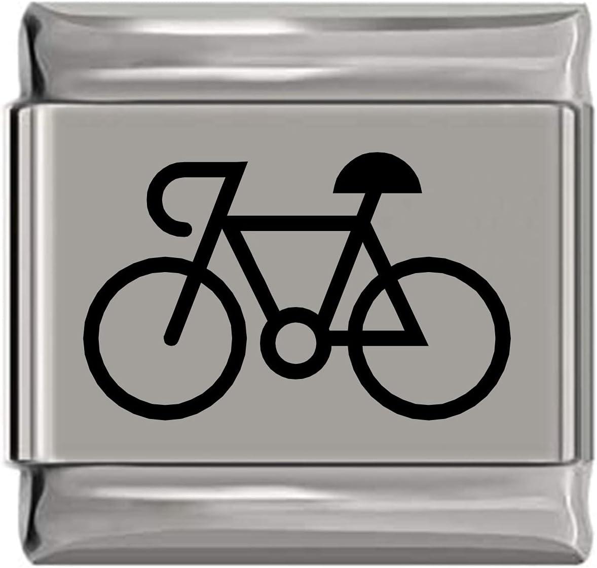 Bicycle Bike Cheap sale Indefinitely Laser Engraved Charm Italian