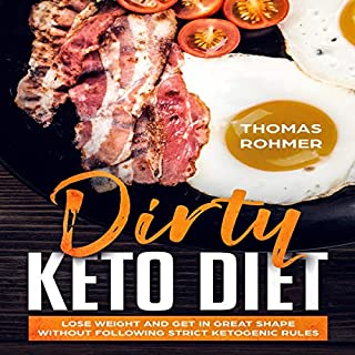 Dirty Keto Diet audiobook cover art