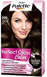 Poly Palette Perfect Gloss Color Tönung, 200 Espresso Schwarz, 1er Pack (1 x 115 ml)