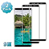 Galaxy S8 Screen Protector, (2-Pack) Tempered Glass Screen Protector [Force Resistant up to 11 pounds] [Full Screen Coverage] [Case Friendly] for Samsung S 8